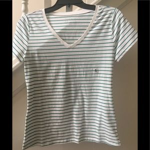 Simply Styled Striped Short Sleeve Tee Shirt NWT